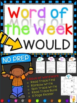 WORD OF THE WEEK - WOULD