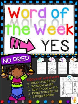 WORD OF THE WEEK - YES