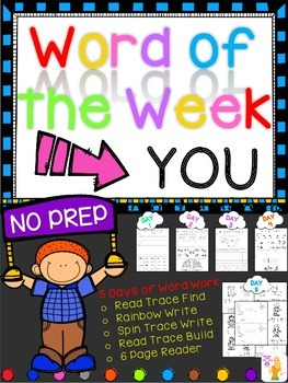 WORD OF THE WEEK - YOU