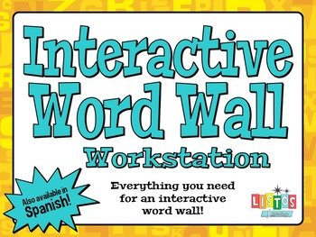 WORD WALL Workstation