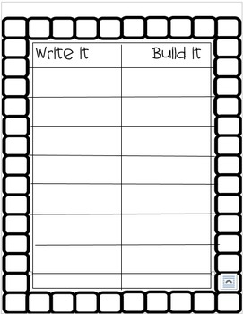 WORD WORK write it, build it