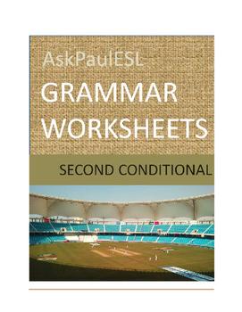 TEFL/ESL WORKSHEET Second Conditional