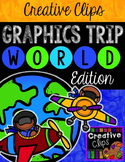 WORLD Graphics TRIP {Creative Clips Digital Clipart}