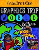WORLD Graphics TRIP {Creative Clips Digital Clipart}