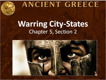 WORLD HISTORY: Ancient Greece Warring City States PowerPoi