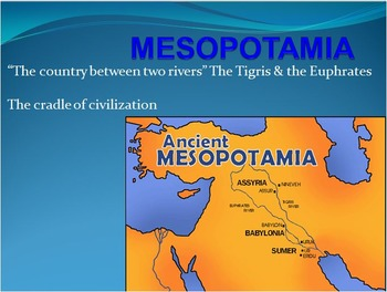 WORLD HISTORY: City States in Mesopotamia PowerPoint with Videos