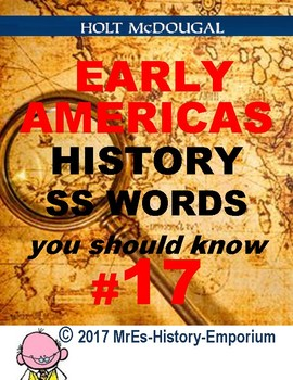 WORLD HISTORY    Words You Should Know #17