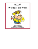 W.O.W. Words of the Week: Working with Words