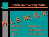 ELA WRITING Figurative Language Simile Metaphor Idiom Pers