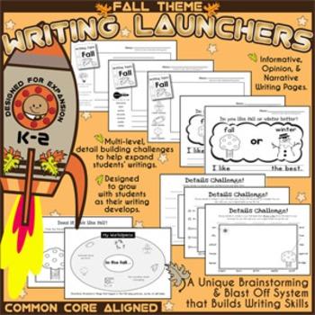 WRITING LAUNCHERS K-2 *FALL SET*