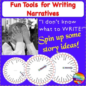 WRITING NARRATIVES A fun, novel tool to inspire reluctant
