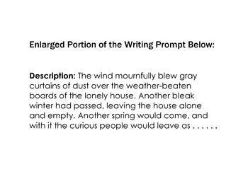 WRITING PROMPT: Photo - Description - Vocabulary - Picturi