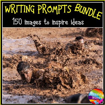 WRITING PROMPTS Task Cards IMAGES to Stimulate ideas Varie