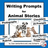 CREATIVE Writing Prompts | ANIMAL Stories|Tips | Word Bank
