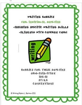 WRITING RUBRICS FOR INDIVIDUAL DOMAINS