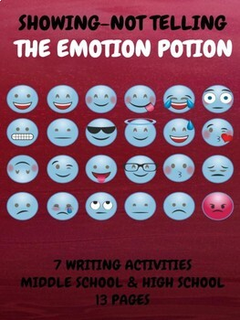 WRITING: SHOWING NOT TELLING-THE EMOTION POTION