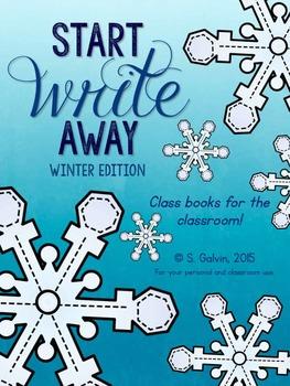 WRITING Start Write Away (Winter) Class Books
