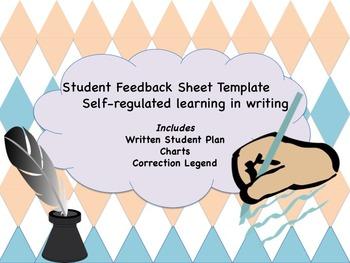 WRITING: NO PREP Student feedback Sheet