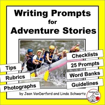 Creative WRITING PROMPTS | ADVENTURE | Tips, Rubrics, Chec
