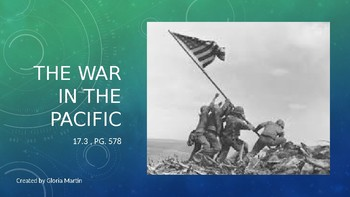 WW2 The Pacific Powerpoint Notes