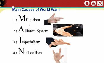 WWI: Causes to Versailles Lecture Series