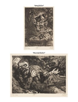 WWI - Trench warfare and its psychological impact through art