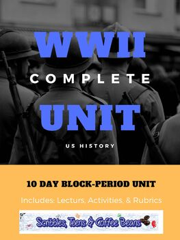 WWII Complete US History Unit