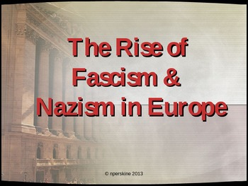 WWII: Comprehensive PowerPoint on Rise and Fall of Europea