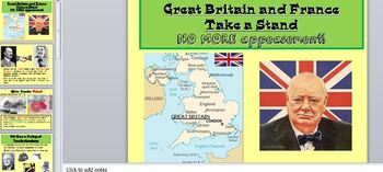 WWII-Great Britain Takes a Stand