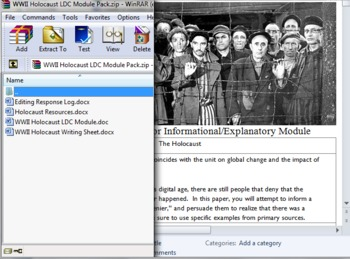 WWII Holocaust LDC Module FULL WITH RESOURCES!