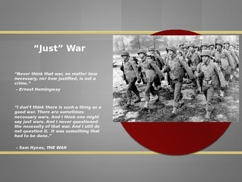 US History Powerpoint (WWII Introductory & The Beginning o