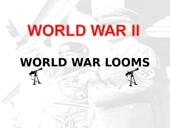 Complete WWII PowerPoint - 413 slides - Very detailed (fre