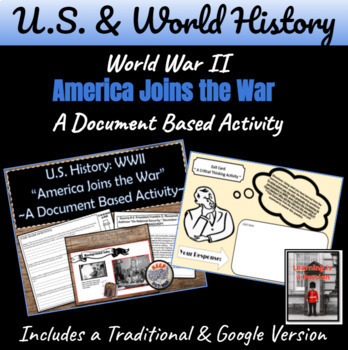 WWII: To what extent was the U.S. involved in the war befo