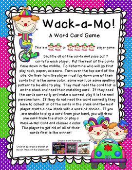 Wack-A-Mo - Reading Street Gr 1 - Phonics/ Spelling