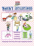 Wacky Inventions 4 Skills Language Development Set