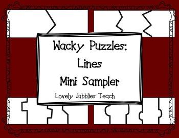 Wacky Puzzles: Lines *Mini Sampler