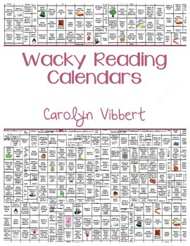 Wacky Reading Calendars: A Year of Reading Challenges