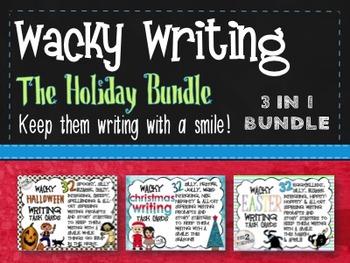 Wacky Writing Holiday Bundle