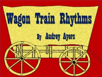 Wagon Train Rhythms Group Activity