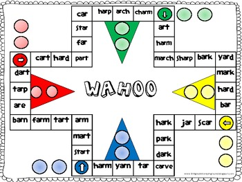 Printables Ar Words wahoo word game ar words by jammie fewell teachers pay words