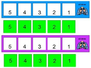 Wait Strip - Visually See Time/Tasks Decrease Till All Done