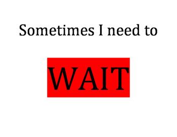Waiting Social Story