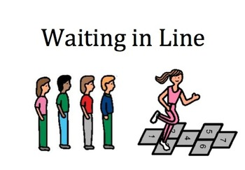 Waiting in Line Social Story
