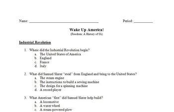 Wake Up America! Movie Guides