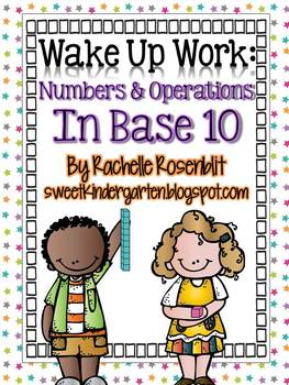 Wake Up Work: Numbers in Base Ten {Common Core Aligned}