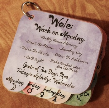 Waldorf Inspired Daily Rhythm Cards - Printable - Instant