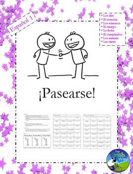 Spanish Interpersonal Speaking - Pasearse - Walk About Que