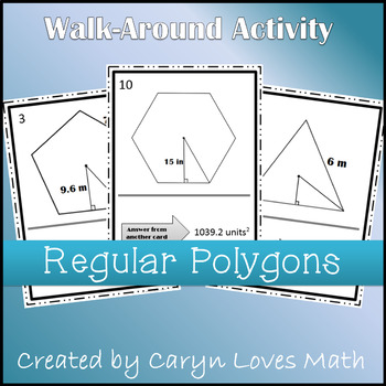 Finding the Area of Regular Polygon