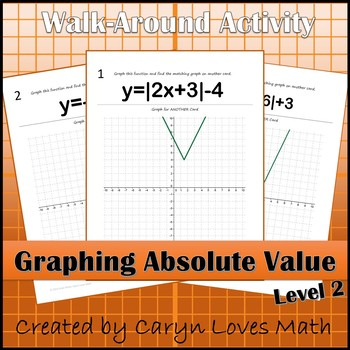 Graphing Absolute Value Functions~ Level 2~