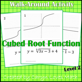 Graphing Cube Root Functions ~Level 2